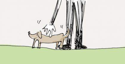 loben tut man seinen Hund